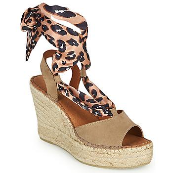 Shoes Women Sandals Fericelli SERRAJE Brown