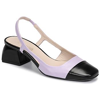 Shoes Women Heels Fericelli TOUBET Purple / Black
