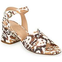 Shoes Women Sandals Fericelli ONAPA Beige / Gold