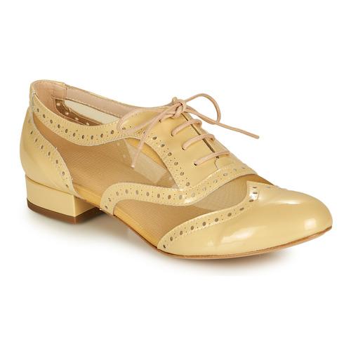 Shoes Women Brogues Fericelli ABIAJE Yellow