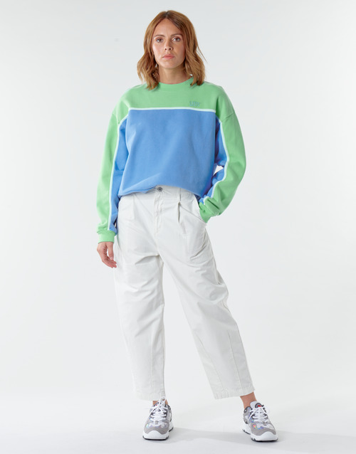 Clothing Women 5-pocket trousers Levi's CRISP TWILL TOFU Beige