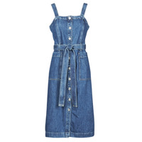 Clothing Women Short Dresses Levi's OUT OF THE BLUE X Blue