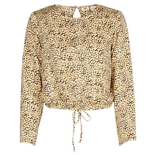 Clothing Women Shirts Levi's AMMOLITE SHIFTING SAND Beige