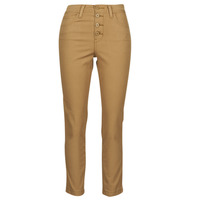 Clothing Women 5-pocket trousers Levi's SOFT CANVAS TOASTED COCONUT OD Beige