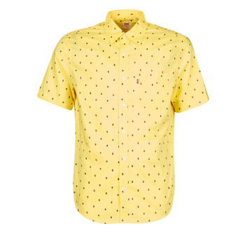 Clothing Men Short-sleeved shirts Levi's HACKMANITE DUSKY CITRON Yellow