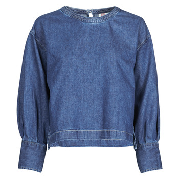 Clothing Women Tops / Blouses Levi's SKIPPIN' STONES (1) Blue