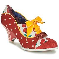 Shoes Women Heels Irregular Choice FORCE OF BEAUTY Red