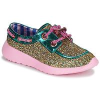 Shoes Women Low top trainers Irregular Choice SKYLAR Gold