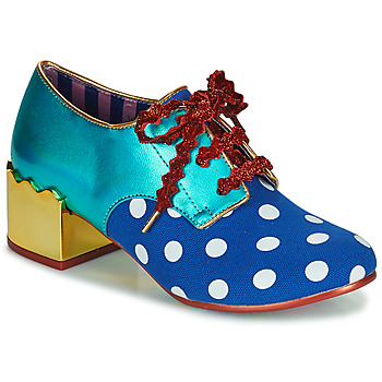 Shoes Women Derby Shoes Irregular Choice Victoria Sponge Blue