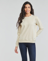 Clothing Women Sweaters Lee SUSTAINABLE SWS ECRU MELE White