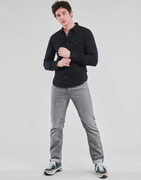 Clothing Men Straight jeans Lee DAREN STORM GREY Grey