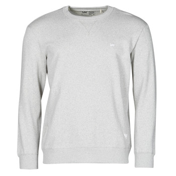 Clothing Men Sweaters Lee SUSTAINABLE CREW SWS GREY MELE Grey