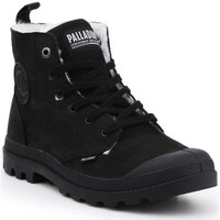 Shoes Men Snow boots Palladium Pampa HI Zip WP M Black