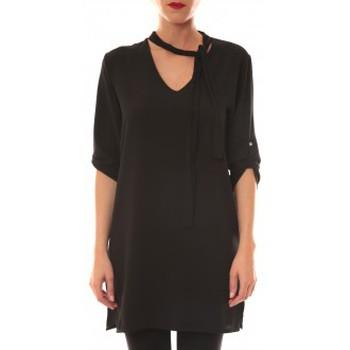 Clothing Women Short Dresses La Vitrine De La Mode Robe 156 By La Vitrine Noire Black