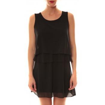 Clothing Women Short Dresses La Vitrine De La Mode Robe TROIS By La Vitrine Noire Black