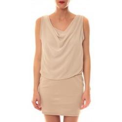 Clothing Women Short Dresses La Vitrine De La Mode Robe 157 By La Vitrine Beige Beige