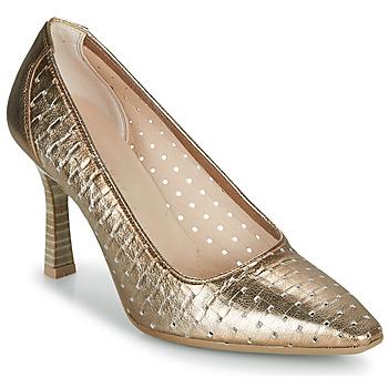 Shoes Women Heels Hispanitas FRIDA-7 Gold