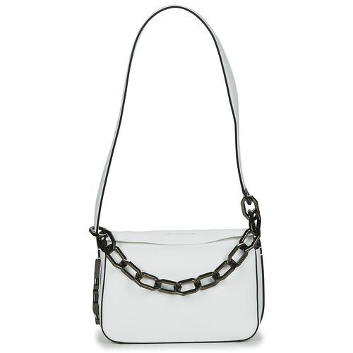 Bags Women Small shoulder bags Karl Lagerfeld K/LETTERS SM SHOULDERBAG White