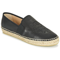 Shoes Women Espadrilles Kenzo ELASTIC TIGER LEATH. Black