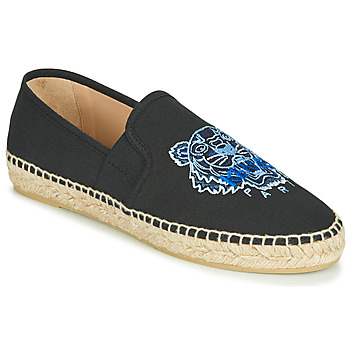 Shoes Women Espadrilles Kenzo ELASTIC TIGER Black