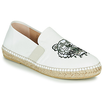 Shoes Men Espadrilles Kenzo ELASTIC TIGER White