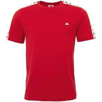 Clothing Men Short-sleeved t-shirts Kappa Hanno Red