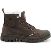 Shoes Women Hi top trainers Palladium Pampa HI Zip WL Brown