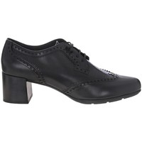 Shoes Women Derby Shoes Geox New Annya Mid Black