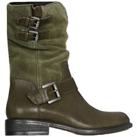 Shoes Women Ankle boots Geox D Charlene A Green