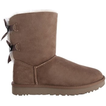 Shoes Women Snow boots UGG Bailey Bow II Brown