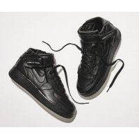 Shoes Hi top trainers Nike Air Force 1 high x Comme des Garçons  BLACK/BLACK-WHITE-BLACK