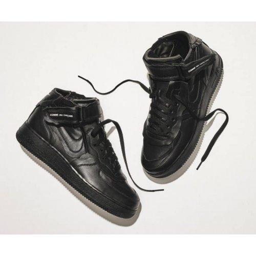 Shoes Hi top trainers Nike Air Force 1 high x Comme des Garçons  BLACK/BLACK-WHITE-BLACK