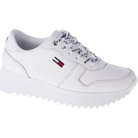 Shoes Women Low top trainers Tommy Hilfiger EN0EN01120YBR White