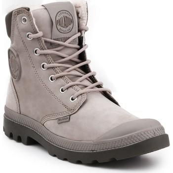 Shoes Hi top trainers Palladium Pampa Sport Cuff WPS 72992-070-M grey