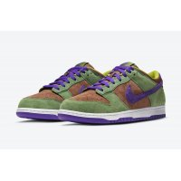 Shoes Low top trainers Nike Dunk Low SP Veneer Veneer/Autumn Green-Deep Purple