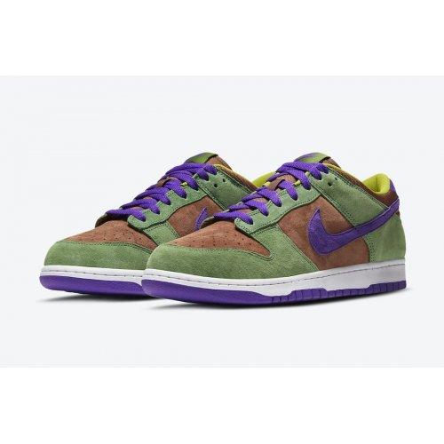 Shoes Low top trainers Nike Dunk Low SP Veneer Veneer/Autumn Green-Deep Purple