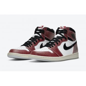 Shoes Hi top trainers Nike Jordan 1 Tromphy Room White/Varsity Red-Sail-Black
