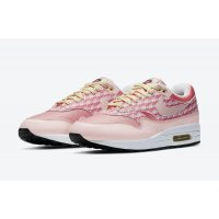 Shoes Low top trainers Nike Air Max 1 Powerwall Strawberry Atmosphere/Atmosphere-True White