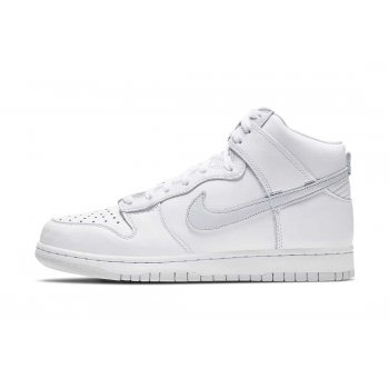 Shoes Hi top trainers Nike Dunk Hogh Pure Platinum White/Pure Platinum