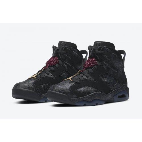 Shoes Hi top trainers Nike Jordan 6 WMNS Singles Day Black/Black-Black