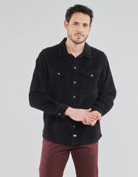 Clothing Men Long-sleeved shirts Dickies FORT POLK Black
