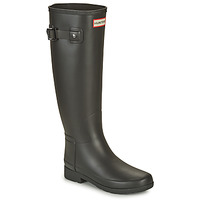 Shoes Women Wellington boots Hunter ORIGINAL REFINED Black