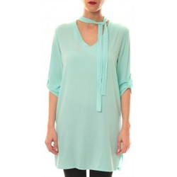Clothing Women Short Dresses La Vitrine De La Mode Robe 156 By La Vitrine Aqua Blue