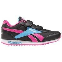 Shoes Children Low top trainers Reebok Sport Royal CL Jogger Black,Blue,Pink