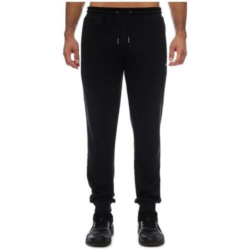 Clothing Men Tracksuit bottoms Fila Wilmet Sweat Black