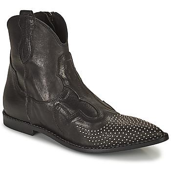 Shoes Women Mid boots Mimmu MONTONE NERO Black