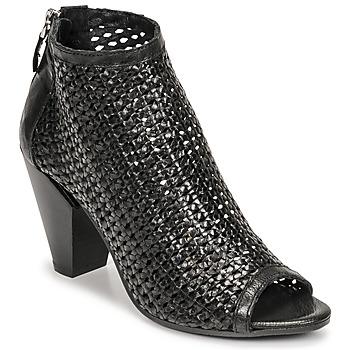 Shoes Women Shoe boots Mimmu INTRECCIO-NERO-PARKER Black