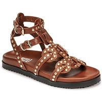 Shoes Women Sandals Mimmu VITELLO-CUOIO Brown