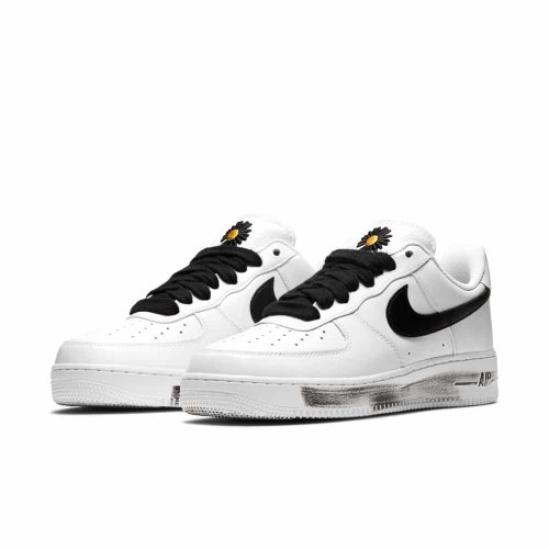 Shoes Low top trainers Nike Air Force 1 Low Parra-Noise White/Black-White