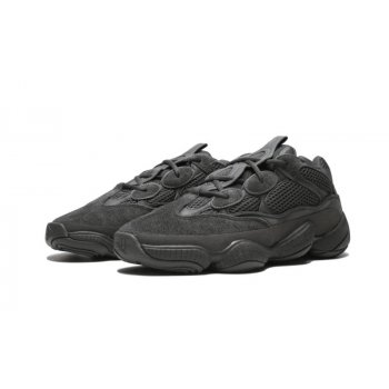 Shoes Low top trainers adidas Originals Yeezy Boost 500 Utility Black Utility Black / Utility Black